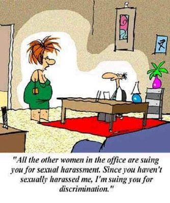 Sexual Harassment – Not What You Thought it Would be?