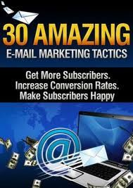30 Amazing E-mail Marketing Tactics ebook free download