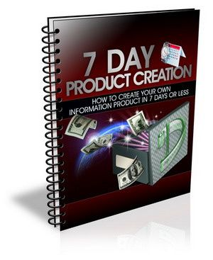 7 day product creation crash course ebook free download