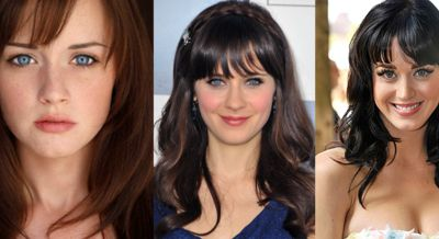 Alexis Bledel, Zooey Deschanel, Katy Perry