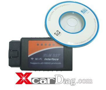 How to set up WIFI ELM327 the OBD2 Auto Scanner Adapter to iPhone/iPad/iPod