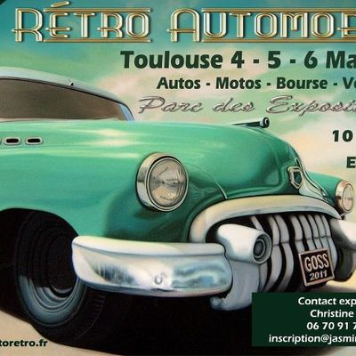 SALON RÉTRO AUTOMOBILE DE TOULOUSE 4 - 5 - 6 MAI 2012