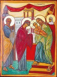 2 Febbraio : Candelora, la presentazione di Gesù al Tempio