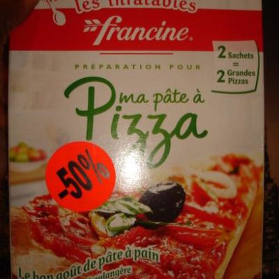 Test : pâte à pizza Francine