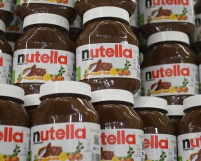 Une couche Pampers tartinée au Nutella...