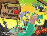 """Bob Esponja """"Dunges and Dragons""""   Juegos Pelea   Juegos gratis Donpublicar"""