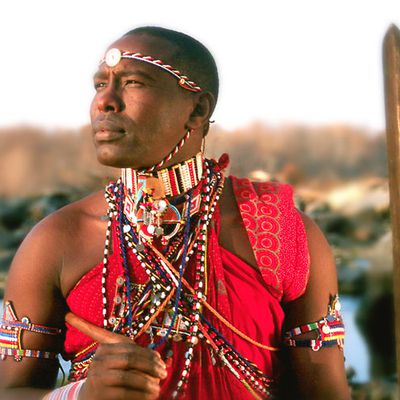 Little Maasai Warrior
