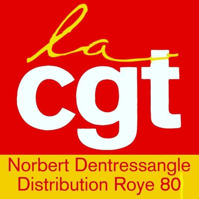 CGT NORBERT DENTRESSANGLE DISTRIBUTION  ROYE