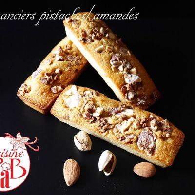 Financiers pistaches/amandes