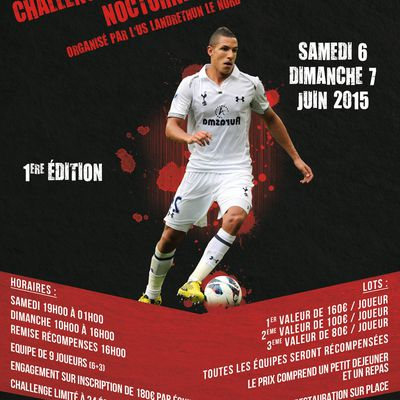 Affiche tournoi football