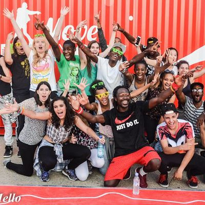 Paris Coca Cola Move my City 2015