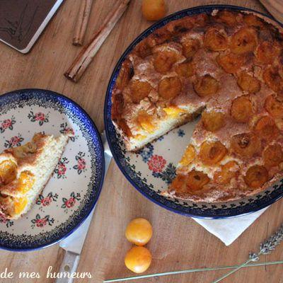 Les jours heureux dans la Comté: gâteau aux mirabelles et cannelle