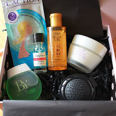 Glossybox d'avril & Co