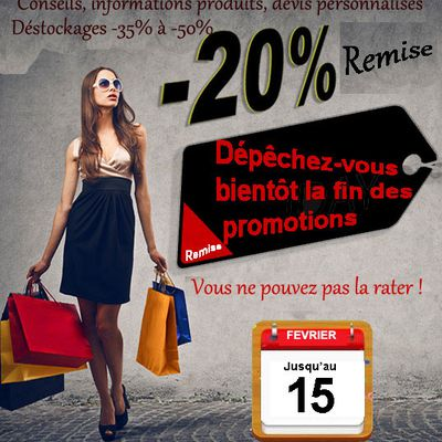 Ne pas rater promotions - 20% - SECODIR DECO