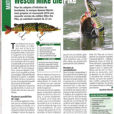 L'essai de Mike the Pike