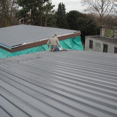 La toiture: Les tôles