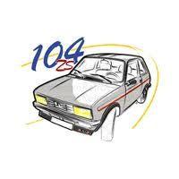 Restauration d'une Peugeot 104 Z
