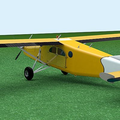 Pilatus PC-6.. A bit of history, and firsts WiPs !