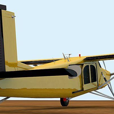 Tailwheel and elevator/rudder