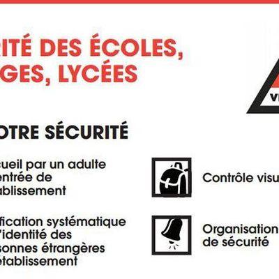 communication communale: accès à l'école de Neuville