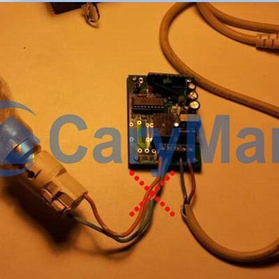 Relay output different from DC/AC output