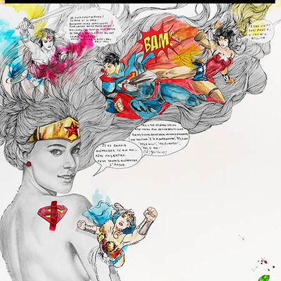 Illustration « Super Wonder Woman »