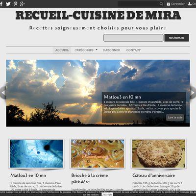 Recueil-cuisine de Mira