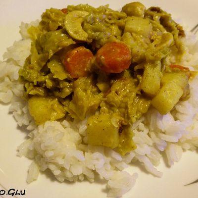 Curry de légumes d'hiver