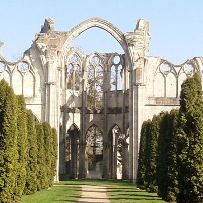 Abbaye de Chiry-Ourscamp, Oise, dimanche 13 mars 2016