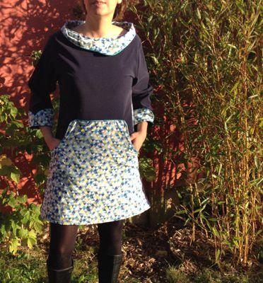 Une Louisa dress adaptée en version adulte