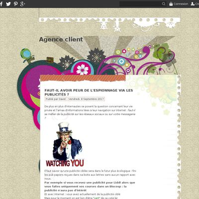 Agence client