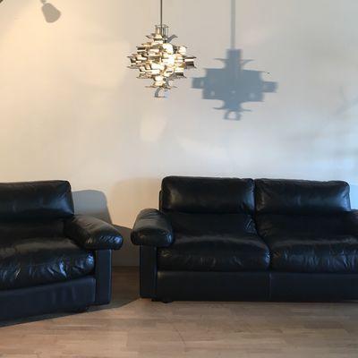 Canapé et fauteuil Tito Agnoli