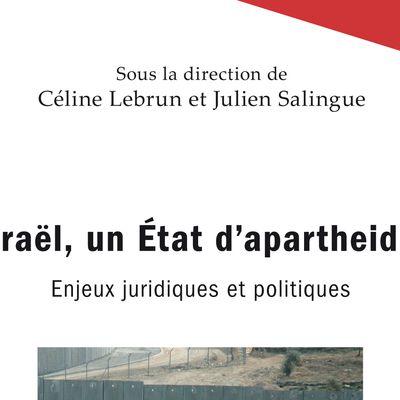 Israël, un État d'apartheid ? Le livre.