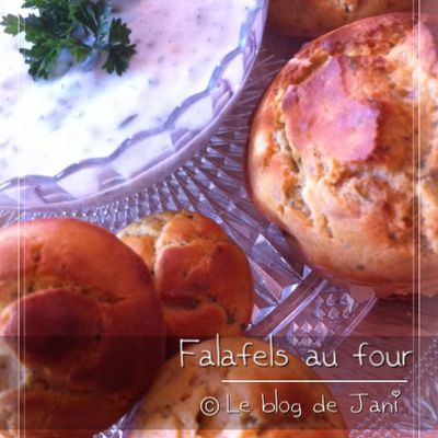 "Falafels au four ""light sans friture"""