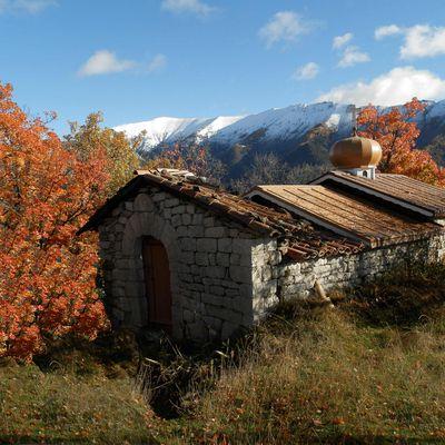 TANARON - AUTOMNE en val de BES - Alpes de Haute Provence