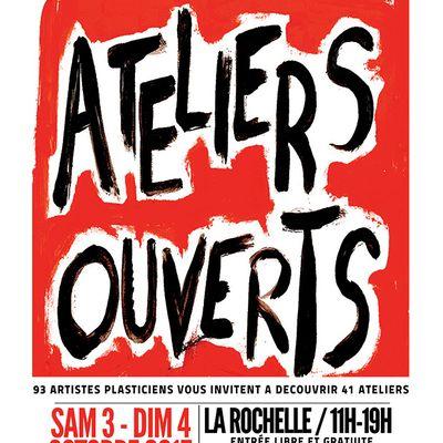 Ateliers ouverts, La Rochelle avec Gasp'Art17 du 3 au 4 octobre 2015