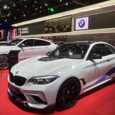 Mondial Paris motor show for BMW