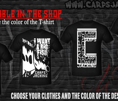 T-shirts men Carp clothing Carp's Jacking