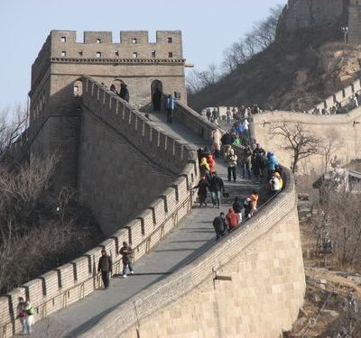 Travel quote - The Great Wall of China