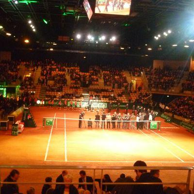 La Coupe Davis au Vendéspace