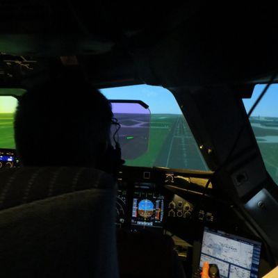 LOE en simulateur A380 chez Air France