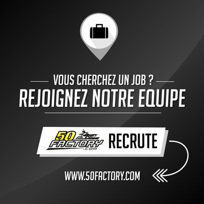 50Factory recrute !