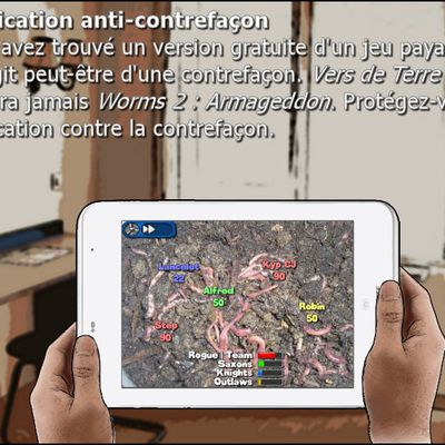 Application Anti-contrefaçon