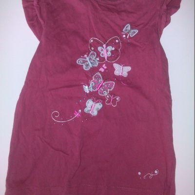 Tee shirt rose 3 ans