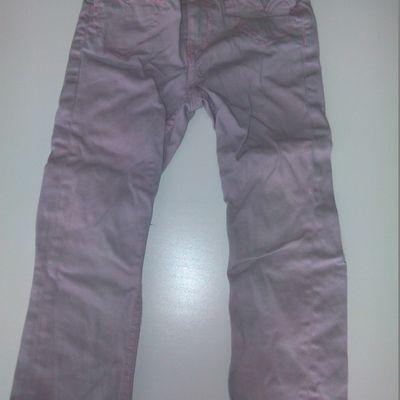 Pantalon rose clair 3 ans