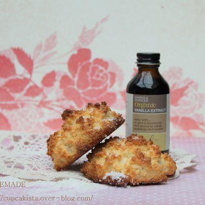 Coconut macaroons {recette gourmande et sans gluten}