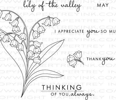 Plein de Bonheur en ce mois de Mai, le Muguet ou Lys des Vallées Symbole de
