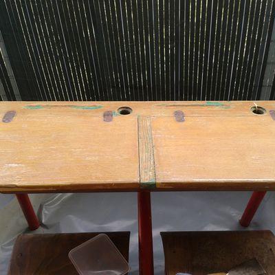 retaper un bureau d'écolier!!!
