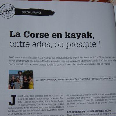 News kayak en Corse ...