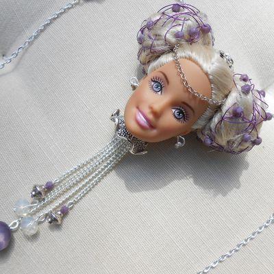 Sautoirs tête de Barbie